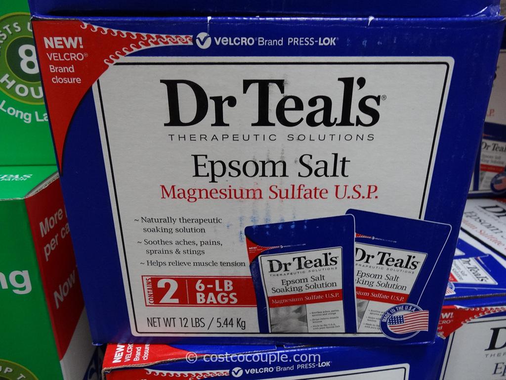 Dr Teals Epsom Salt Costco 3