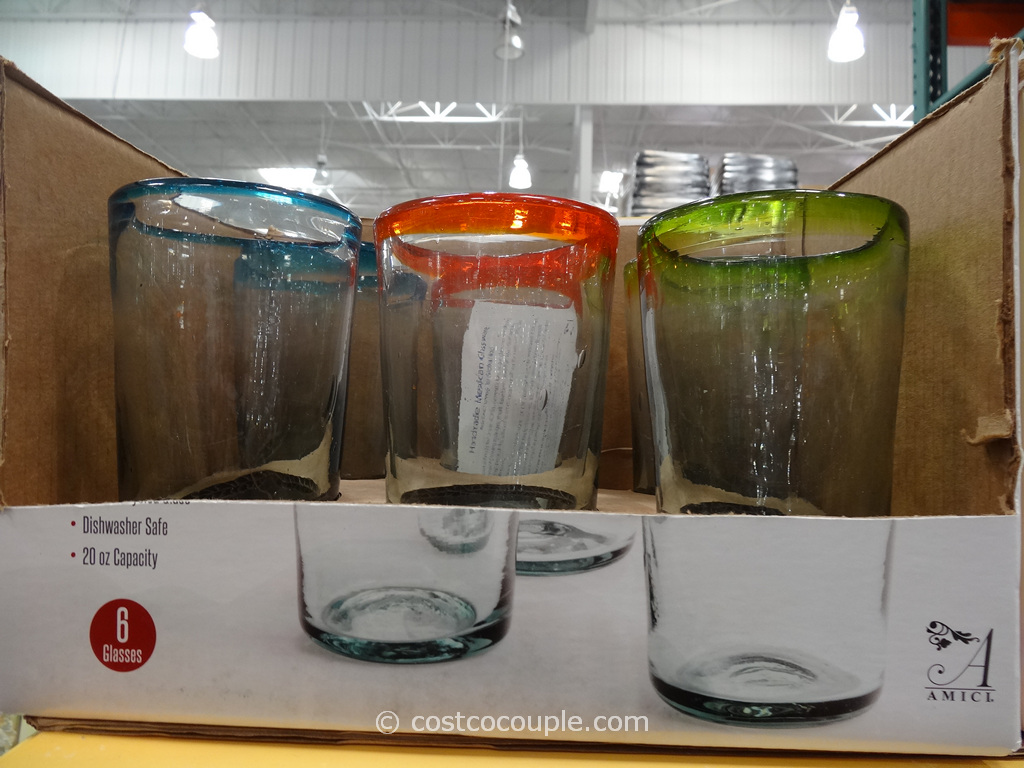 Fiesta Mexican Glassware Set Costco 1