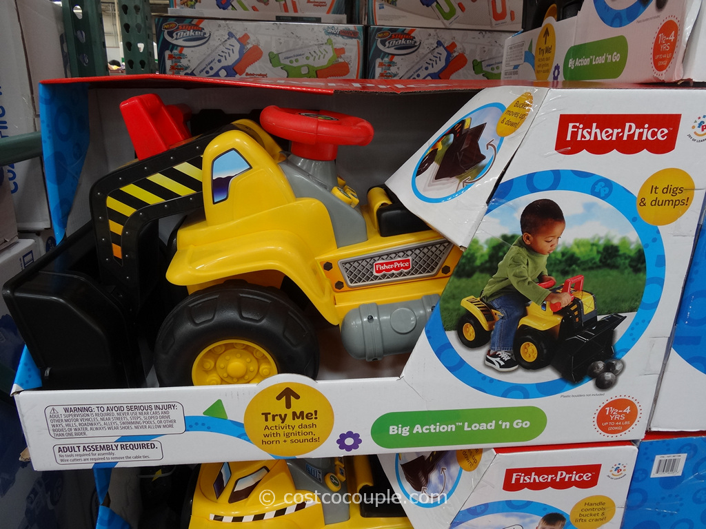 Fisher Price Big Action Load N Go Costco 1