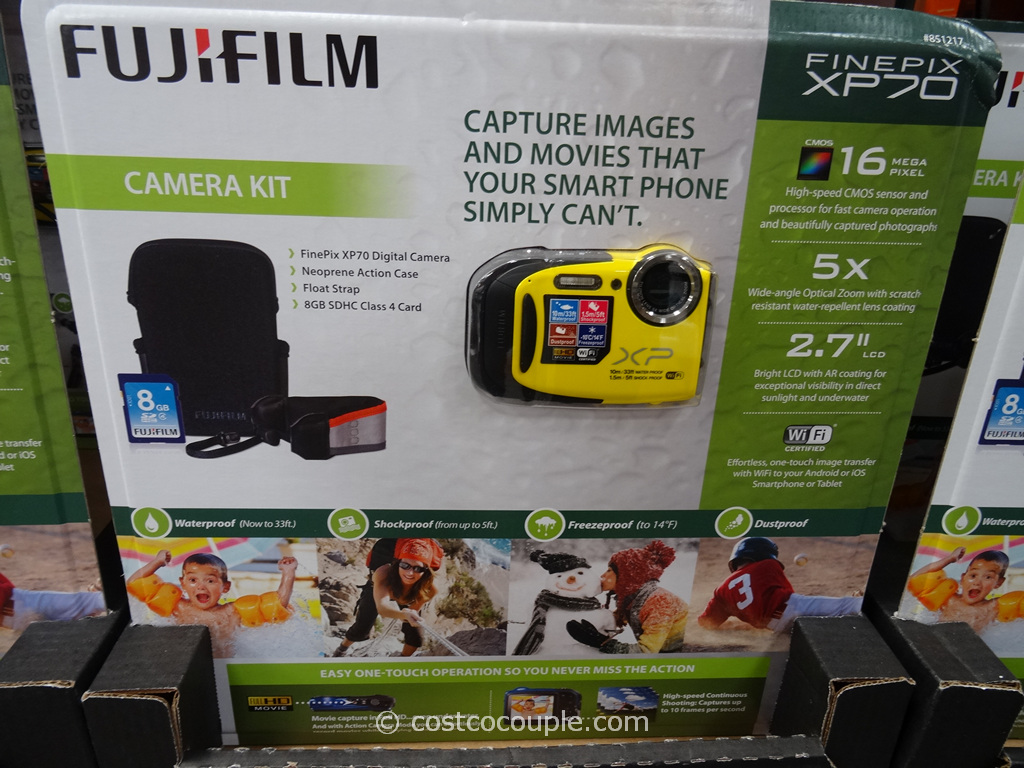 Fuji XP70 Weatherproof Camera Costco 2