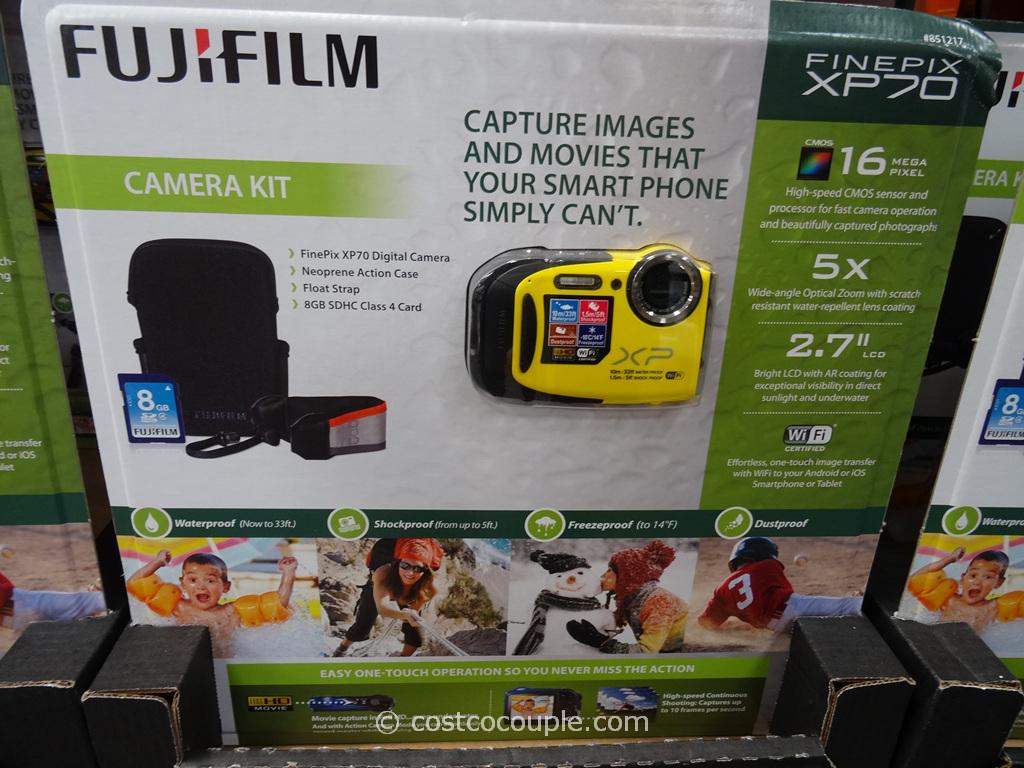 Fuji XP70 Weatherproof Camera Costco 2