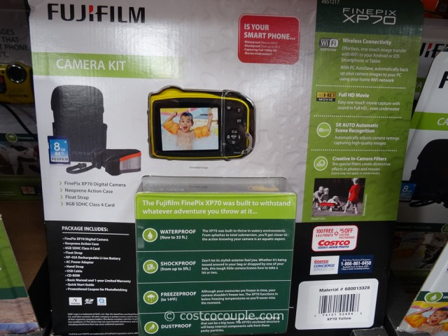 Fuji XP70 Weatherproof Camera Costco 3