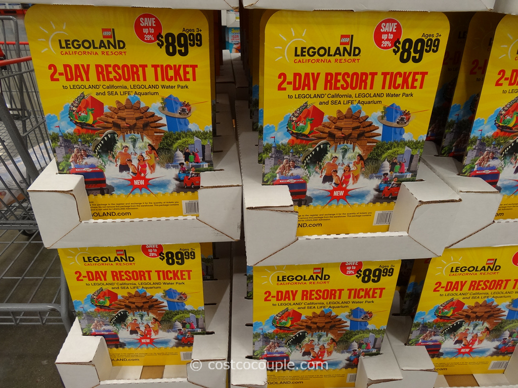Gift Card Legoland 2-Day Resort Ticket Costco 1