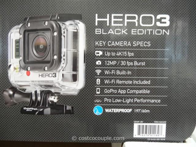 GoPro Hero3 Black Edition Costco 5