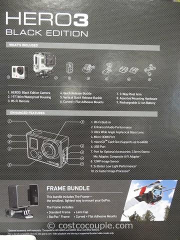 GoPro Hero3 Black Edition Costco 8