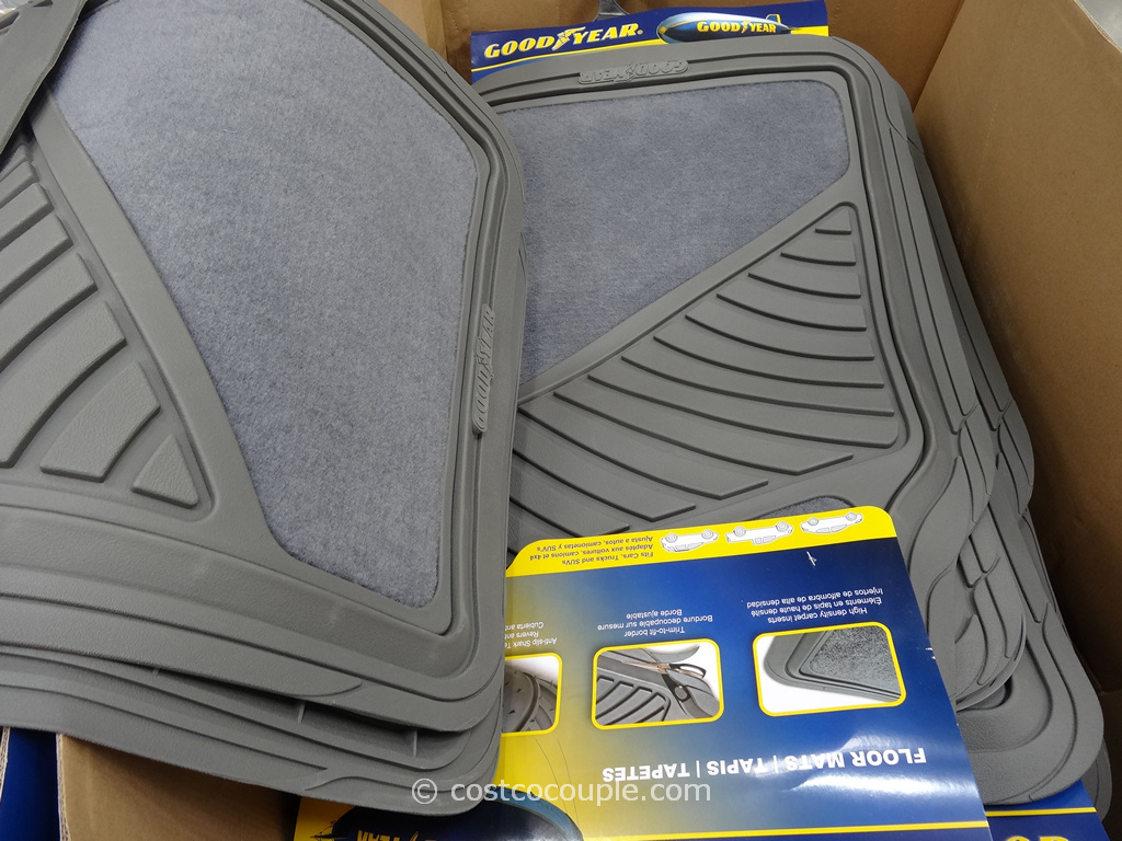 Goodyear 4-Piece Car Mat Set Costco 1