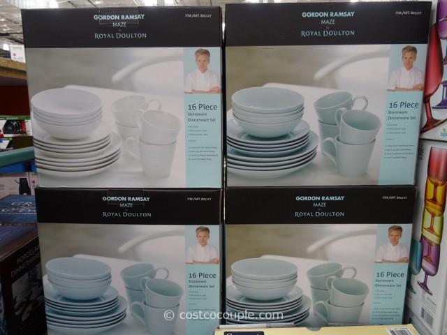 & Gordon Ramsay Maze Stoneware Dinnerware Set