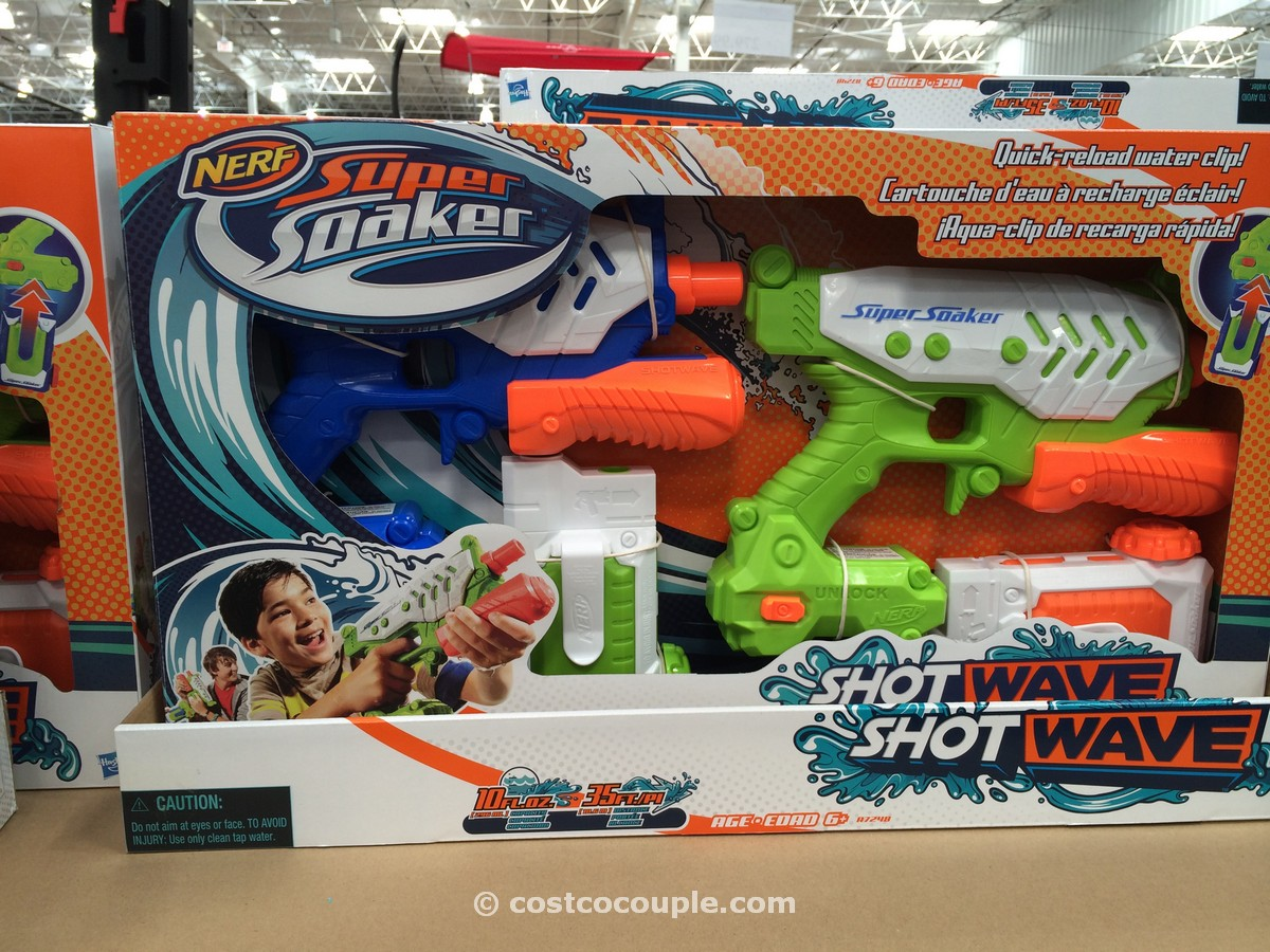 Hasbro Super Soaker Shotwave Costco 2
