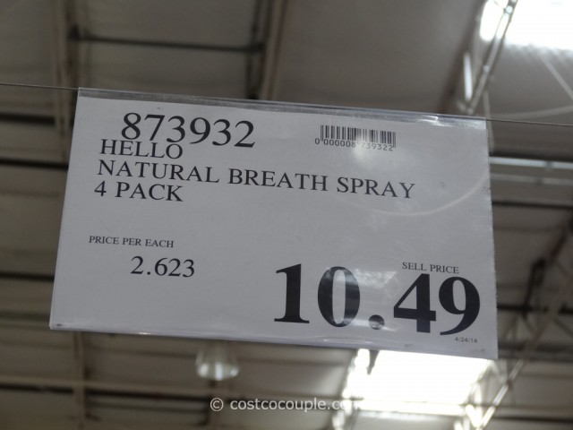 Hello Natural Breath Spray Costco 1