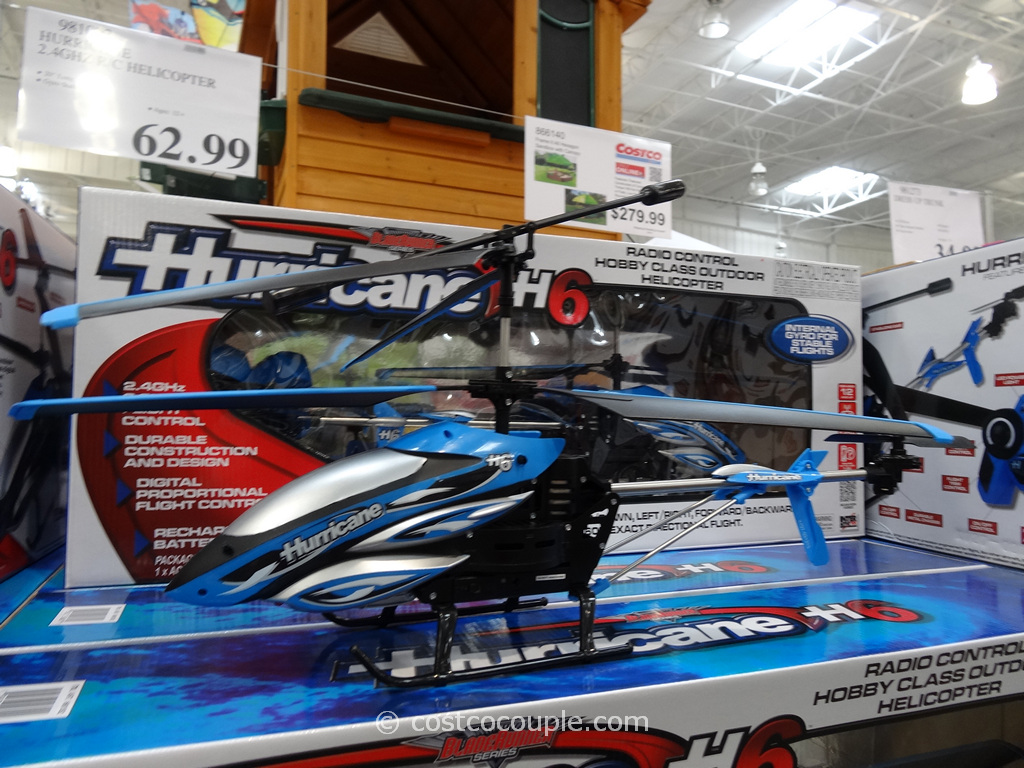 Hurricane H6 Radio Control Outdoor Helicopter Costco 2