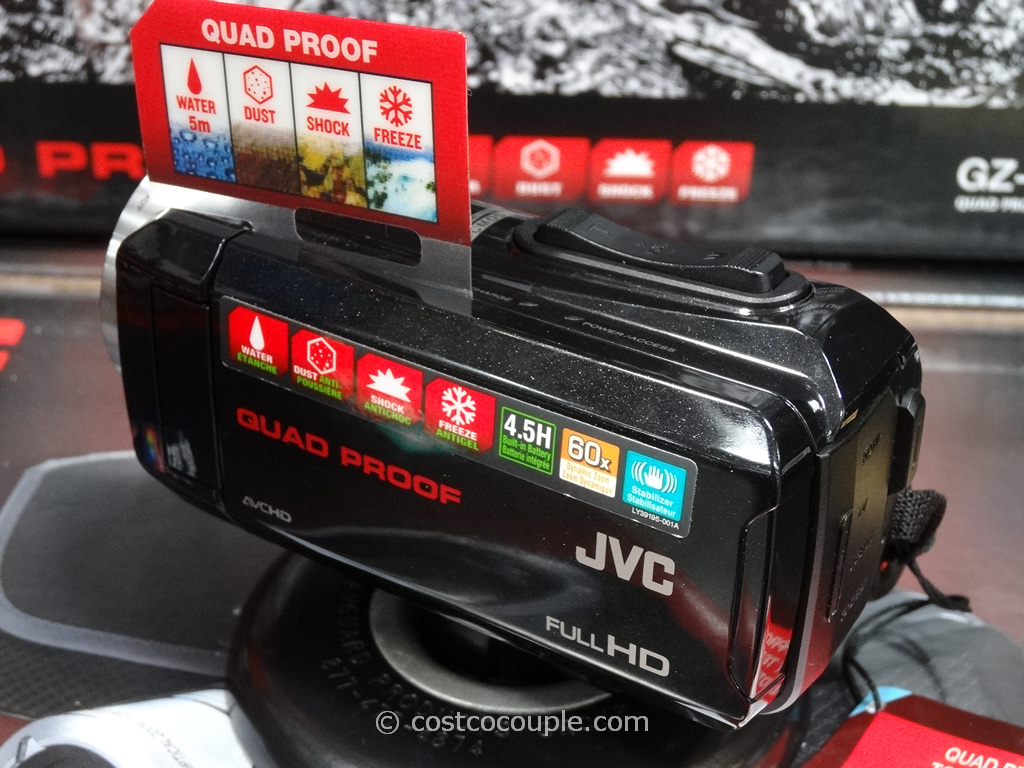 JVC Quad Proof All-Weather Camcorder Costco 3