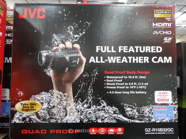 JVC Quad Proof All-Weather Camcorder Costco 4