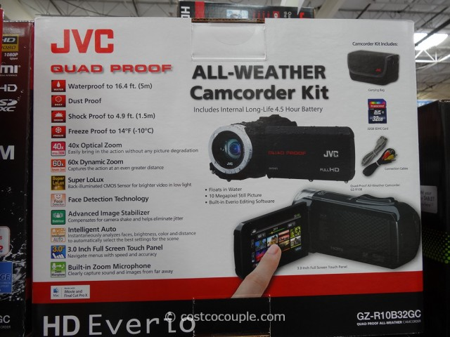 JVC Quad Proof All-Weather Camcorder Costco 5