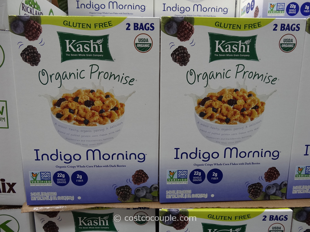 Kashi Organic Indigo Morning Cereal Costco 1