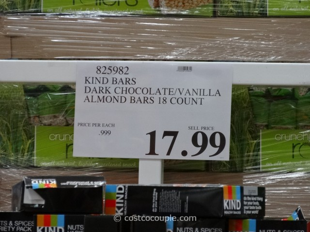Kind Bars Nut and Spices Variety Pack Costco 1