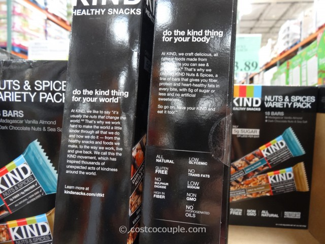 Kind Bars Nut and Spices Variety Pack Costco 4