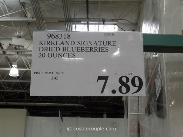 Kirkland Signature Dried Blueberries Costco 1