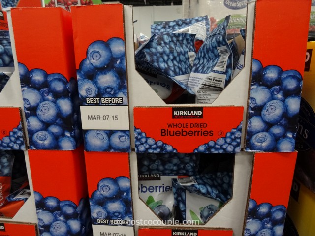 Kirkland Signature Dried Blueberries Costco 3