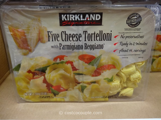 Kirkland Signature Five Cheese Tortelloni Costco 2