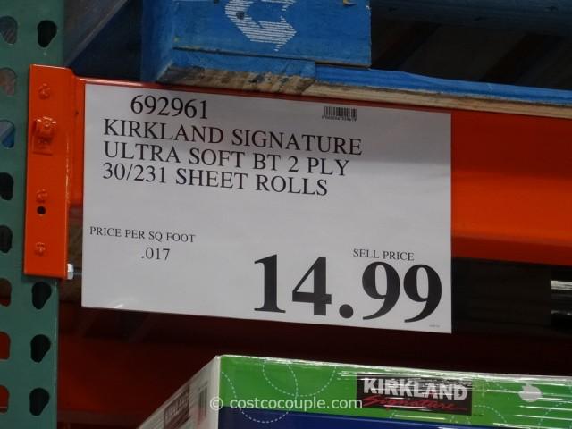 Kirkland Signature Ultra Soft Bath Tissue Costco 3