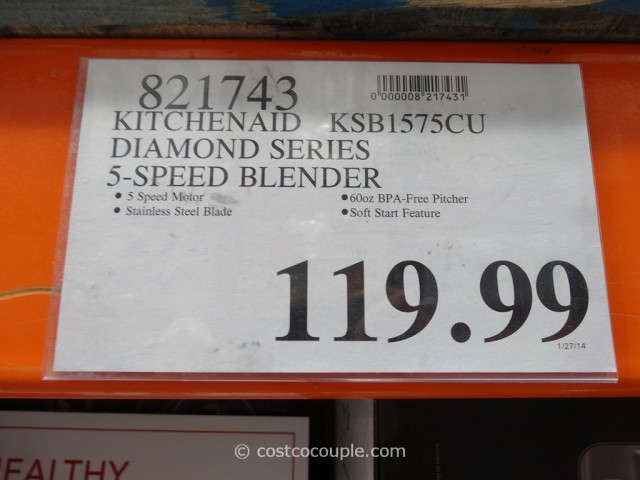 KitchenAid Diamond Series 5-Speed Blender Costco 1
