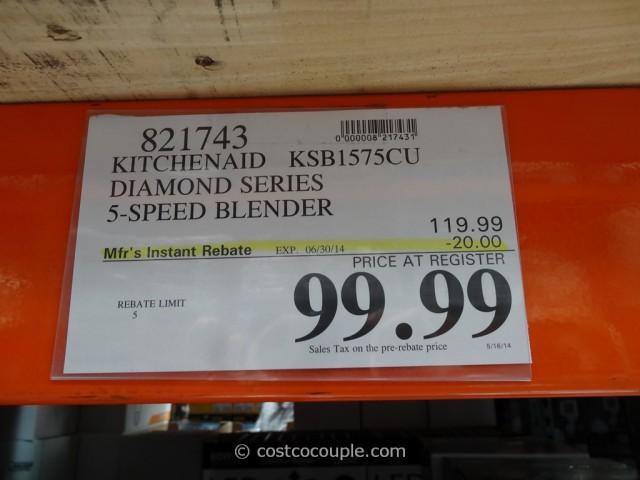 KitchenAid Diamond Series Blender Costco