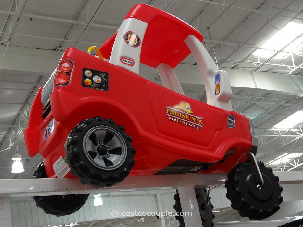 Little Tikes Cozy Fire Truck Costco 1