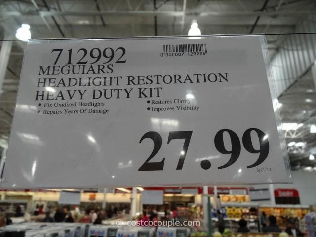 Meguiars Headlight Restoration Kit Costco 4