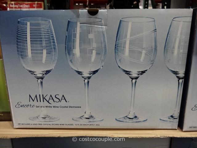 Mikasa Encore Etched Stemware Costco 3