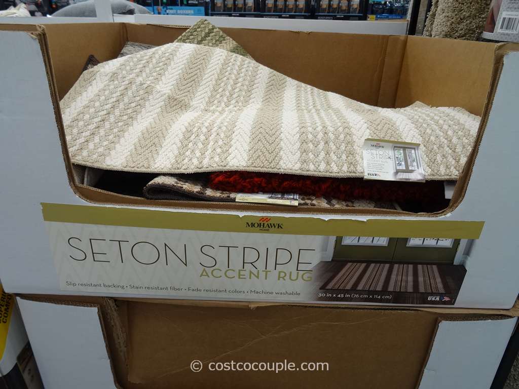 Mohawk Seton Stripe Costco 2