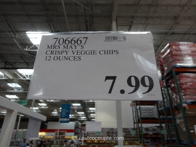 Mrs Mays Crispy Veggie Chips Costco 1