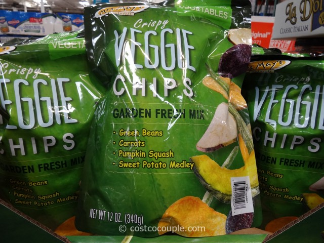 Mrs Mays Crispy Veggie Chips Costco 2