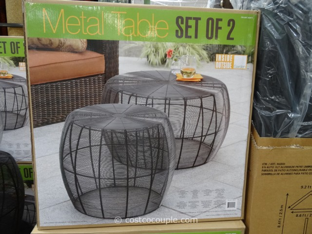 Mullally Metal Accent Tables Costco 2