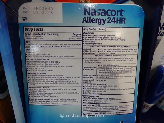 Nasacort Allergy Spray Costco 2