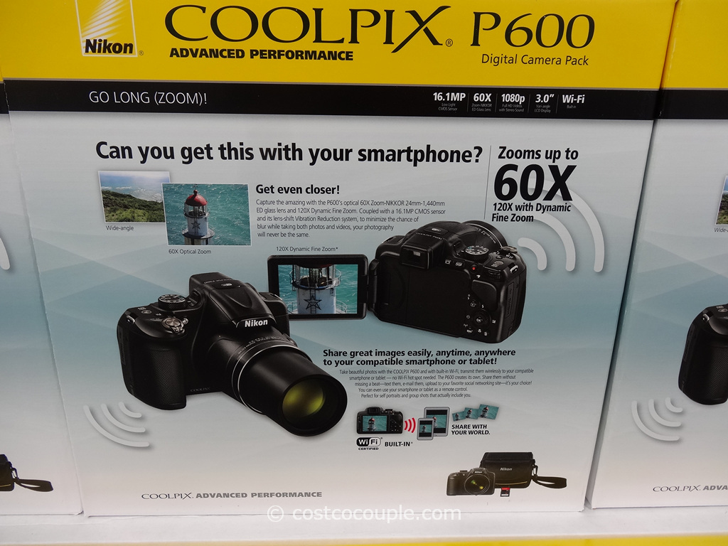 Nikon Coolpix P600 Costco 1