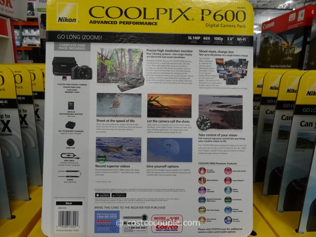 Nikon Coolpix P600 Costco 2