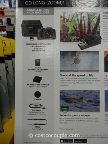 Nikon Coolpix P600 Costco 4