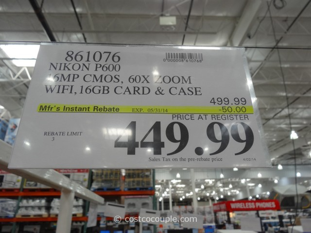 Nikon Coolpix P600 Costco 5