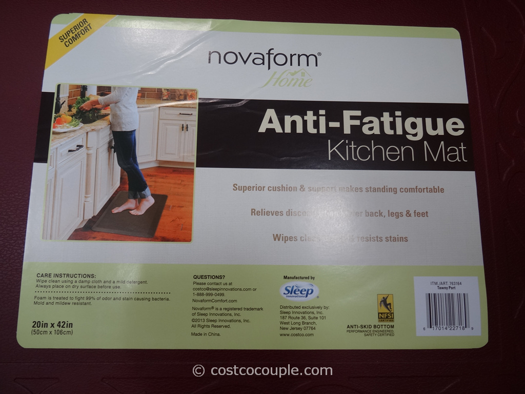 Novaform Anti-Fatigue Kitchen Mat