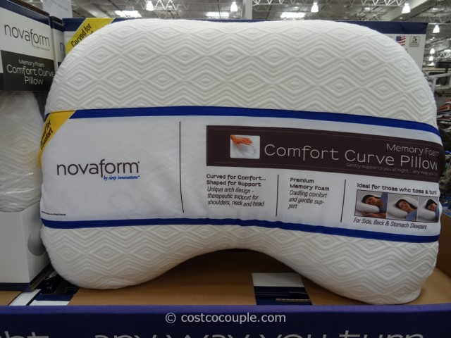 Novaform Memory Foam Comfort Curve Pillow