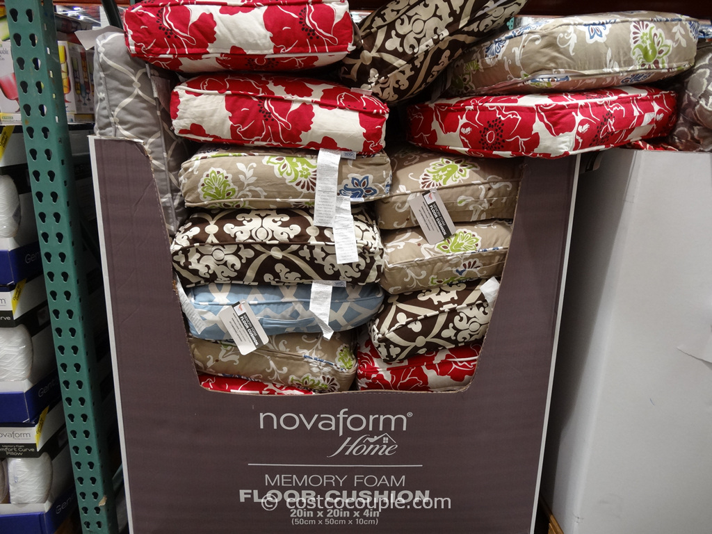 Novaform Memory Foam Floor Cushion Costco 1