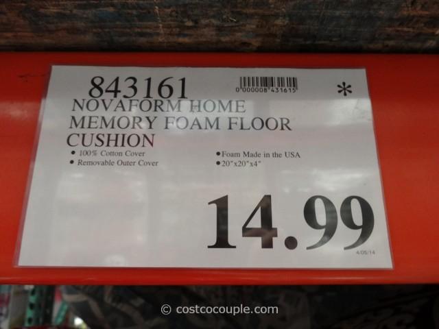 Novaform Memory Foam Floor Cushion