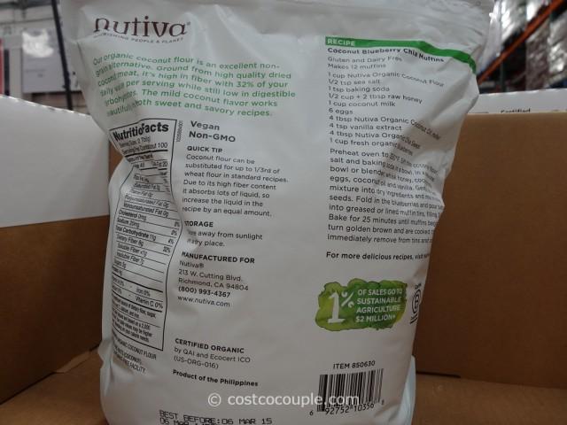 Nutiva Organic Coconut Flour Costco 4