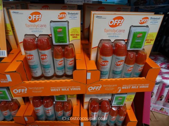 Off FamilyCare Insect Repellent Costco 2
