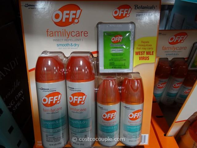 Off FamilyCare Insect Repellent Costco 3
