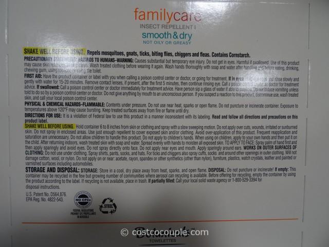 Off FamilyCare Insect Repellent Costco 4