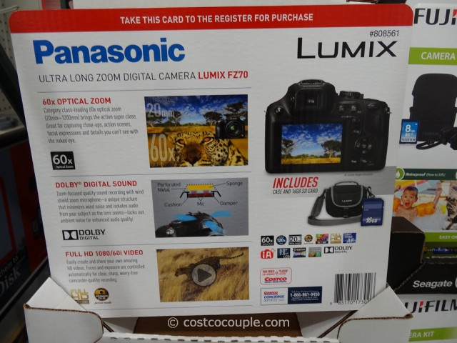 Panasonic Lumix FZ-70 Costco 1