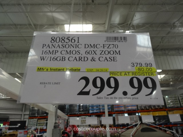 Panasonic Lumix FZ-70 Costco 5