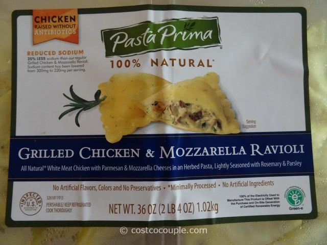 Pasta Prima Chicken and Mozzarella Ravioli Costco 5