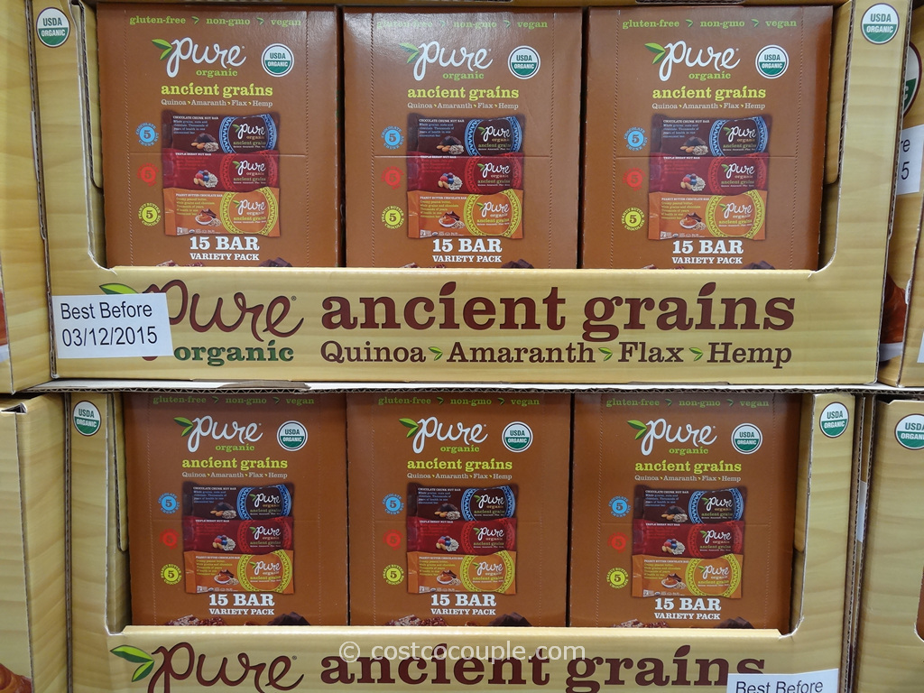 Pure Organic Ancient Grains Bar Costco 1